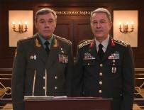 ORGENERAL - Genelkurmay Başkanı Akar, Rus mevkidaşı ile Karargah'ta görüştü