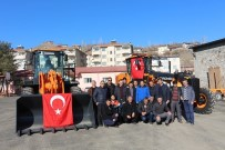 İŞ MAKİNASI - Karayolları Oltu Şube Şefliği Araç Filosuna Yeni Araç Takviyesi