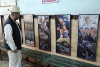 RESSAM - Maden Facialarını Resimle Anlattı, Sergiyi Gezen Madenciler Duygulandı