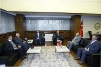 İNSAN HAKLARı GÜNÜ - Mazlumder Yöneticileri Başkan Çelik'i Ziyaret Etti