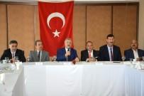 GÜMRÜK VERGİSİ - Müteahhitler Federasyonu Başkanı Necip Nasır Açıklaması