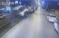 YOLCU OTOBÜSÜ - 15 Kişinin Yaralandığı Trafik Kazası Kamerada