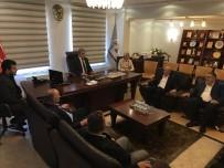 YEREL YÖNETİMLER - AK Parti İlçe Teşkilatından Başkan Akcan'a Ziyaret