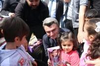 Başkan Yazıcı Çocukları Sevindirmeye Devam Ediyor