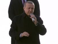 Cumhurbaşkanı Erdoğan: Acırsanız acınacak hale gelirsiniz