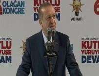 HAKKARİ YÜKSEKOVA - Cumhurbaşkanı Erdoğan'dan Yüksekova ve Cizre açıklaması
