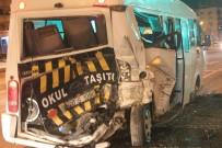 BAĞBAŞı - Denizli'de Zincirleme Kaza Açıklaması 3 Yaralı