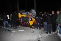 TAKSİ ŞOFÖRÜ - Fatih'te Trafik Kazası Açıklaması 1 Ölü, 3 Yaralı