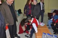 KARDEŞ OKUL - İslahiye Cumhuriyet İlkokulu Öğrencilerinden Kardeş Okula Yardım Kampanyası