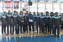 KARAMANOĞLU MEHMETBEY ÜNIVERSITESI - Karaman'da Üniversitelerarası Basketbol 2. Lig Müsabakaları Sona Erdi