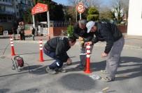 KARŞIYAKA BELEDİYESİ - Karşıyaka'da Yollar Artık Daha Güvenli