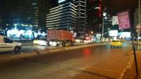 BÜYÜKDERE - Motosiklete Çarpan Otomobil Kayıplara Karıştı