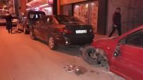 POLİS KARAKOLU - Park Halindeki Araçlara Çaptıktan Sonra Kaçtı