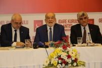 TEMEL KARAMOLLAOĞLU - SP Genel Başkanı Karamollaoğlu, Bölge Sorunlarını Değerlendirdi
