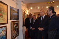 HALUK PEKŞEN - Trabzon Sanatçıları Geleneksel Plastik Sanatları Sergisi Açıldı