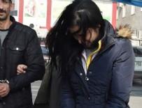 ÜNİVERSİTE ÖĞRENCİSİ - Üniversite öğrencisi kız sütyeninde saklamış!