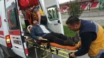LİSE ÖĞRENCİSİ - Arkadaşını Okul Kursuna Götürürken Kaza Yaptı Açıklaması 1 Yaralı