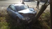 BAŞKÖY - Bilecik'te İki Otomobil Çarpıştı Açıklaması 8 Yaralı