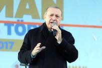 HIZLI TREN HATTI - Cumhurbaşkanı Erdoğan Karaman'da Toplu Açılış Törenine Katıldı (1)