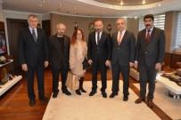 MEZHEP - Erzincanlılar Başkan Doğan'ı Ziyaret Etti