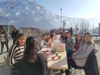 SÜMBÜL DAĞI - Karlı Sümbül Dağı Manzaralı Piknik Keyfi