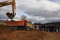 KURBAN KESİMİ - Kula'da Yeni Hastane İçin İlk Kazma Vuruldu