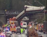 YOLCU TRENİ - ABD'de yolcu treni raydan çıktı: 6 ölü, 77 yaralı