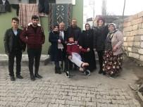 BELDEN - Akülü Arabasına Kavuşan Engelli Sevinci Duygulandırdı