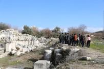 ESKIHISAR - Arkeolog Adayları Stratonikeia Antik Kenti'ni Gezdi