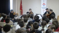 BORUSAN - Aydın Bahçeşehir Koleji, Borusan Quartet'i Ağırladı