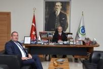 MUSTAFA ALTıNTAŞ - Başkan Albayrak, Başkanı Altıntaş'tı Makamında Ağırladı