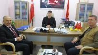 MEFTUN - Burhaniye'de Hürriyet Ortaokulu Müdürü Bilgin'den Mesleki Eğitim Merkezine Veda Ziyareti