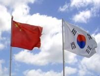 HAVA SAHASI - Çin savaş jetleri Güney Kore hava sahasına girdi
