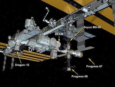 Dragon kapsülü ISS'ye ulaştı