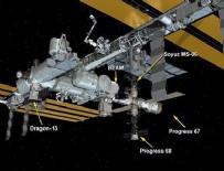 ULUSLARARASı UZAY İSTASYONU - Dragon kapsülü ISS'ye ulaştı
