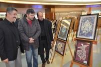 KARAAĞAÇ - Ebru Tezhip Günleri Dolu Dolu Geçti
