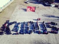 İNSAN ZİNCİRİ - Gelendostu İmam Hatiplilerden Koreografik Protesto