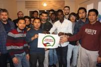 YABANCI ÖĞRENCİLER - Yabancı Öğrencilerden, Türkiye'ye 'Kudüs' Teşekkürü