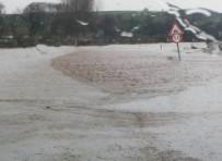 KAR YAĞıŞı - Tarım Arazileri Sular Altında Kaldı