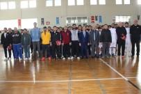 SALON FUTBOLU - Türkiye Ünilig 2. Lig Salon Futbolu İskenderun'da Başladı
