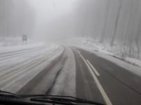 DEREKÖY - Balkanlardan Beklenen Kar Geldi