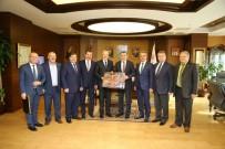 TÜRKIYE BELEDIYELER BIRLIĞI - Başkan Kafaoğlu, Bakan Bak'ı Ziyaret Etti