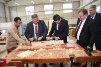 ENERJİ SANTRALİ - Bosna Hersek Brçko Distrikt Başbakanı Damir Bulçeviç Ve Beraberindeki Heyet Kayseri OSB'yi Ziyaret Etti
