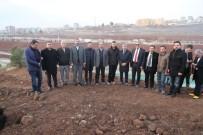 OYUN DÜNYASI - Çiftçi, Meclis Üyeleriyle Birlikte Ağaç Dikti