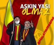 YAŞLI ÇİFT - E.Yeni Malatyaspor'un Renkli Simaları Maço Orhan Ve Fatma Nine'nin Tabloları Yapıldı