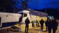 Kamyon Kontrol Noktasına Girdi Açıklaması 2'Si Polis 3 Yaralı