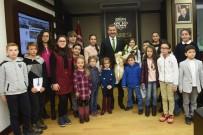 ÇOCUK MECLİSİ - Karesi Çocuk Meclisi'nden Başkan Yılmaz'a Ziyaret