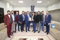 GENÇ GİRİŞİMCİLER - Kayseri Ve Kırşehir İl Genç Girişimcilerden KAYSO'ya Ziyaret