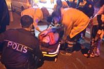 MOBESE - Çarptıkları motosiklet sürücüsünü öldüresiye dövüp, kaçtılar