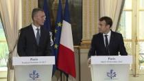 ELYSEE SARAYı - Macron-Stoltenberg Görüşmesi
